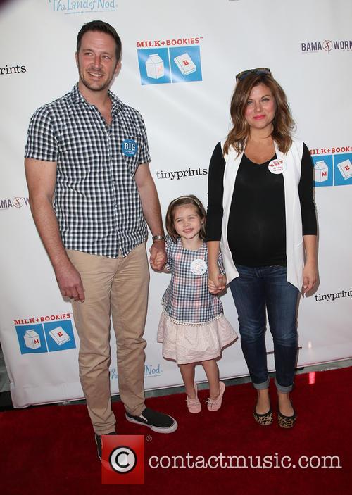 Brady Smith, Harper Renn Smith and Tiffani Thiessen 2