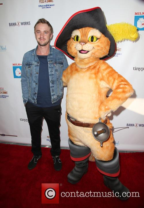 Tom Felton and Puss In Boots 3