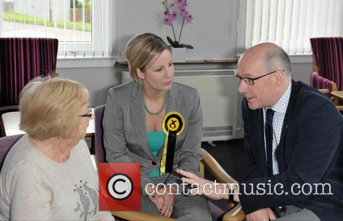 Hannah Bardell and John Swinney 6