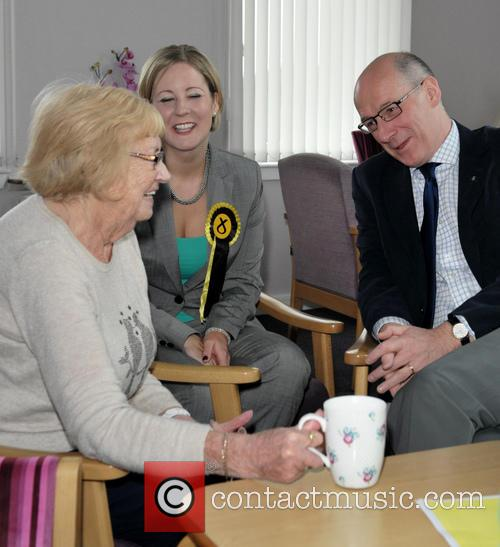 Hannah Bardell and John Swinney 7