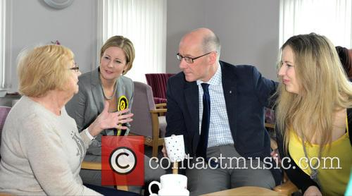 Hannah Bardell and John Swinney 1