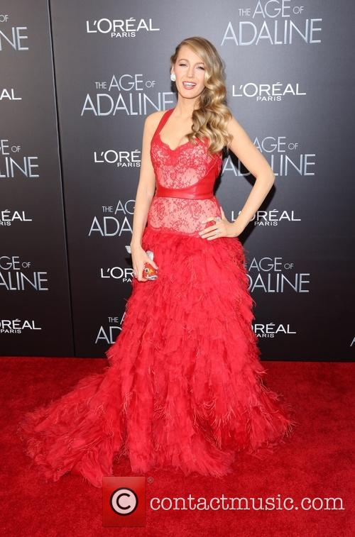 Blake Lively at 'The Age Of Adaline' New York premiere