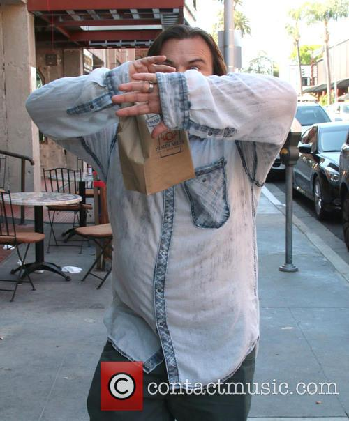 Jack Black out and about in Beverly Hills