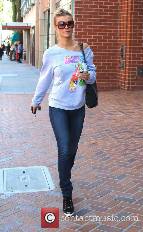 Joanna Krupa out and about running errands