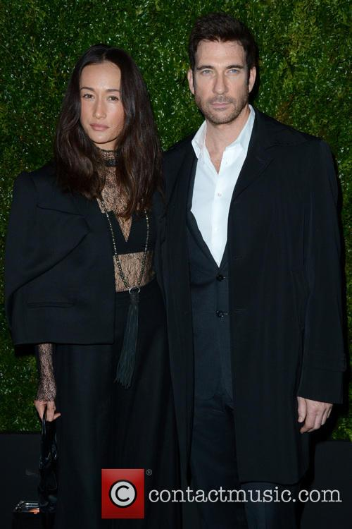 Maggie Q and Dylan Mcdermott 5