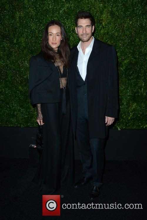 Maggie Q and Dylan Mcdermott 1