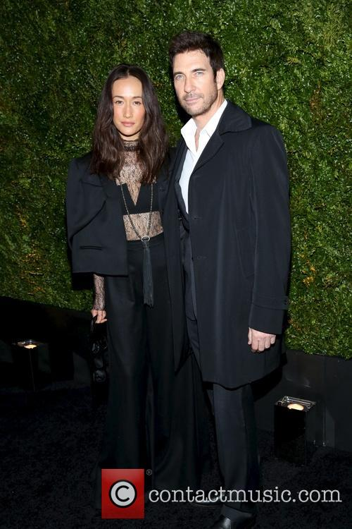Maggie Q and Dylan Mcdermott 8