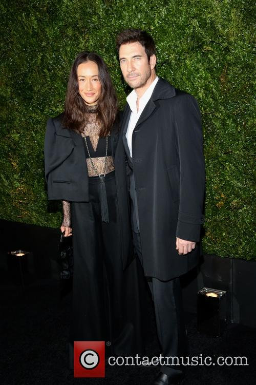 Maggie Q and Dylan Mcdermott 9