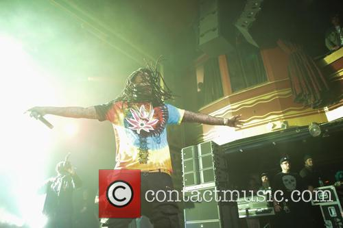Waka Flocka Flame performing live in concert