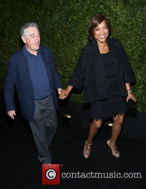 Robert De Niro and Grace Hightower 7