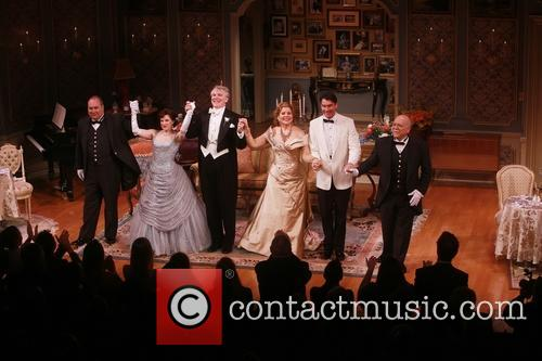 Blake Hammond, Anna Chlumsky, Douglas Sills, Renee Fleming, Jerry O'connell and Scott Robertson 1