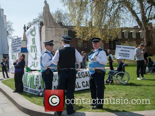 London and Pro-cannabis Rally 6