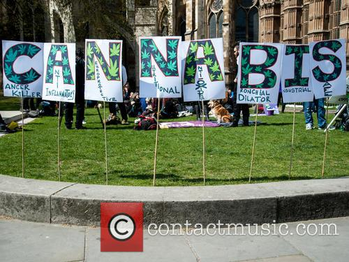 London and Pro-cannabis Rally 8
