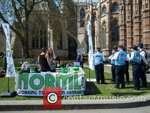 London and Pro-cannabis Rally 1