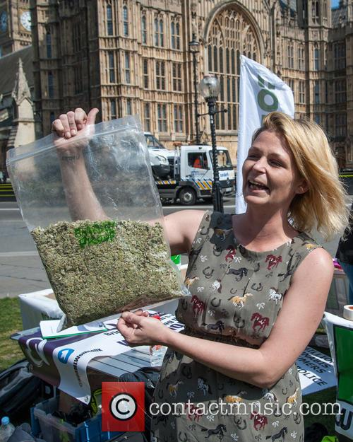 London and Pro-cannabis Rally 10