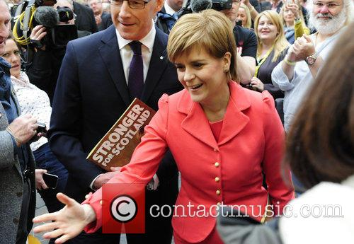 Atmosphere and Nicola Sturgeon 2