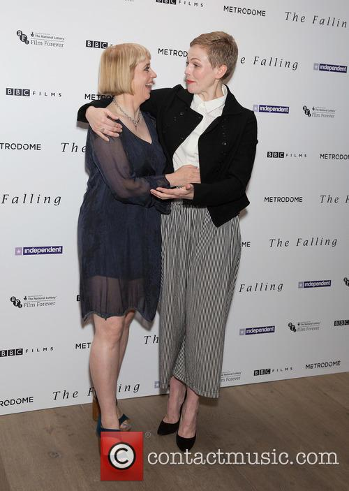 Carol Morley and Maxine Peake