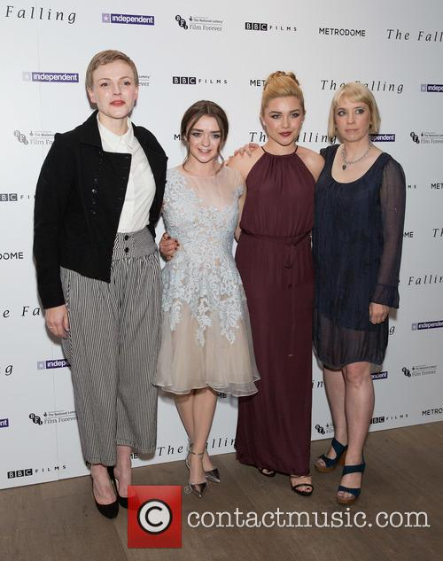 Maxine Peake, Maisie Williams, Carol Morley and Florence Pugh 6