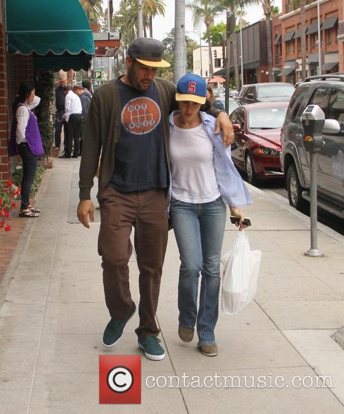 Ben Harper goes shopping in Beverly Hills