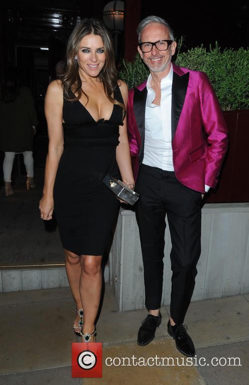 Elizabeth Hurley and Patrick Cox 4