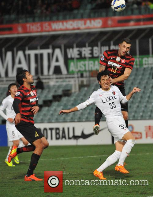 Mu Kanazaki and Matthew Spiranovic 1