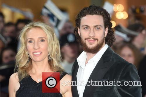Sam Taylor-johnson and Aaron Taylor-johnson 5