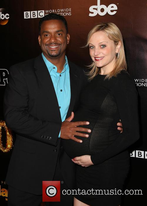 Alfonso Ribeiro and Angela Unkrich 7