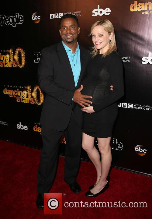 Alfonso Ribeiro and Angela Unkrich 8