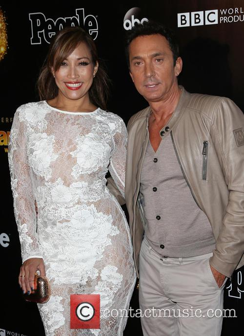 Carrie Ann Inaba and Bruno Tonioli 6