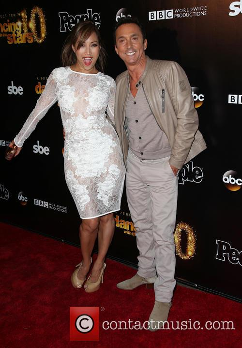 Carrie Ann Inaba and Bruno Tonioli 8