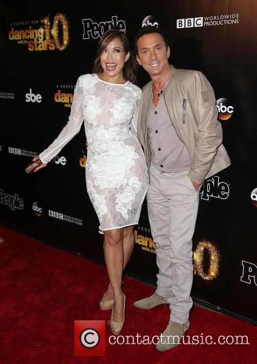 Carrie Ann Inaba and Bruno Tonioli 10