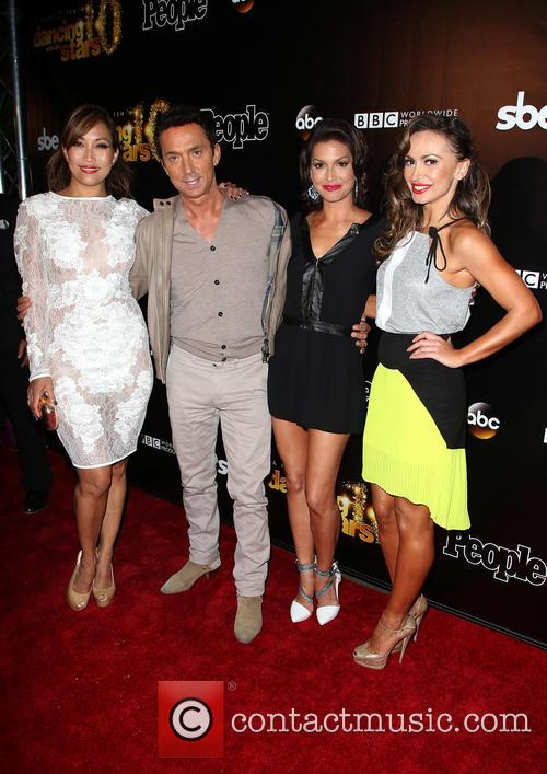 Carrie Ann Inaba, Bruno Tonioli, Melissa Rycroft and Karina Smirnoff 2