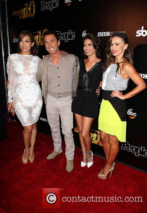 Carrie Ann Inaba, Bruno Tonioli, Melissa Rycroft and Karina Smirnoff 3