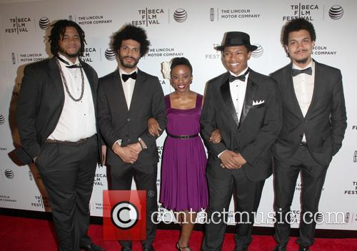 Tanisha and Jc Hopkins Biggish Band Members Including Wayne Tucker 3