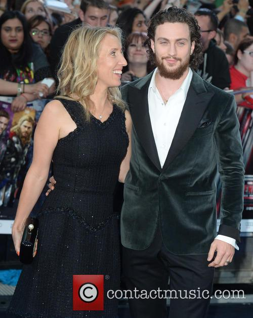 Sam Taylor, Aaron Taylor- Johnson and Avengers