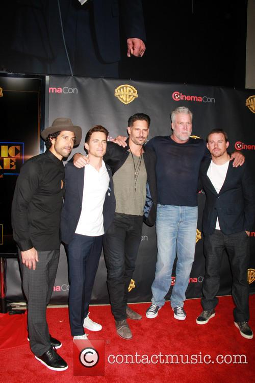 Adam Rodriguez, Matt Bomer, Joe Manganiello, Kevin Nash and Channing Tatum