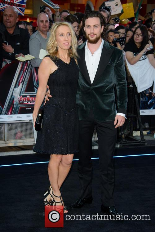 Sam Taylor Johnson and Aaron Taylor Johnson 8