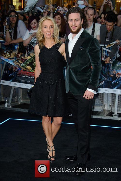 Sam Taylor Johnson and Aaron Taylor Johnson 9