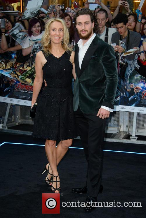 Sam Taylor Johnson and Aaron Taylor Johnson 10