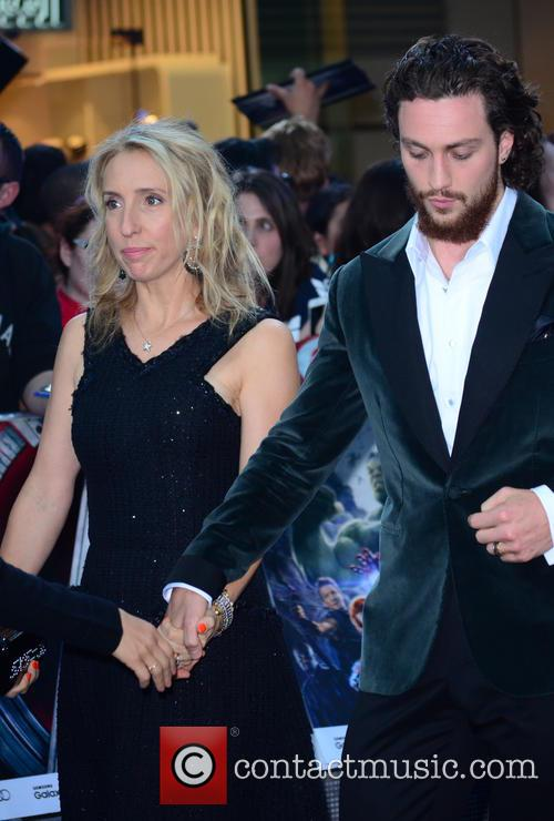 Sam Taylor Johnson and Aaron Taylor Johnson 11