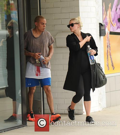 Evan Ross, Ashley Simpson_evan Ross and Ashlee Simpson 5