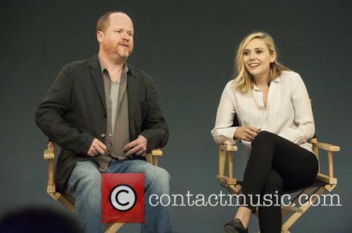 Joss Whedon and Elizabeth Olsen 3