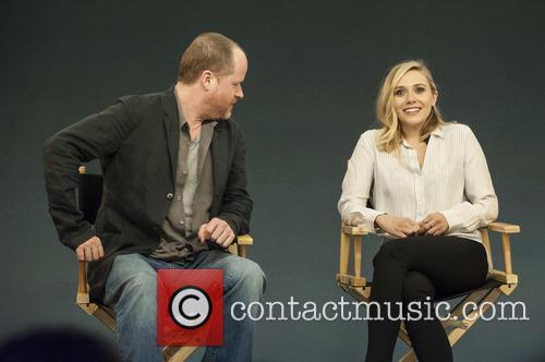 Joss Whedon and Elizabeth Olsen 4