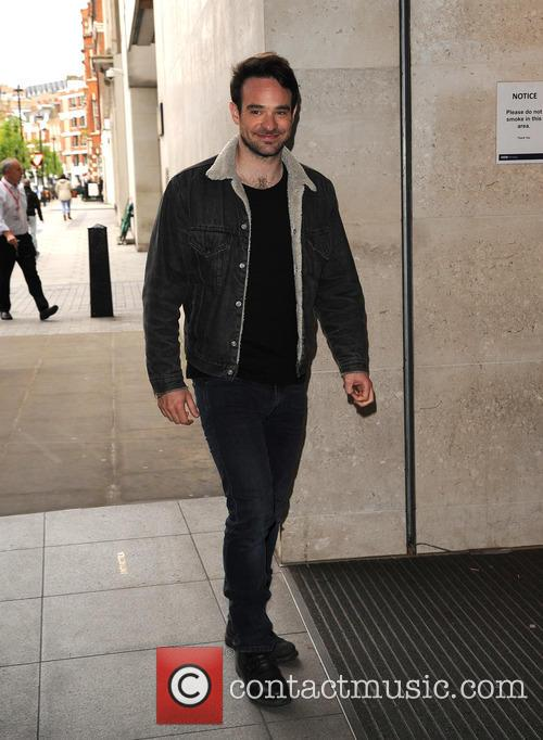 Charlie Cox arrives at BBC Radio 1