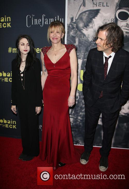 Frances Bean Cobain, Courtney Love and Brett Morgen 4