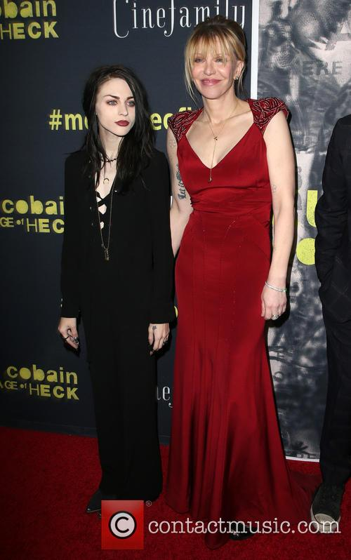 Frances Bean Cobain and Courtney Love 5