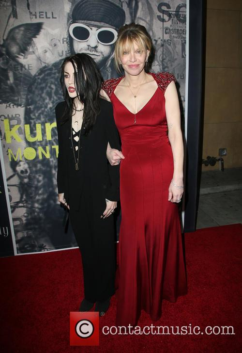 Frances Bean Cobain and Courtney Love 9