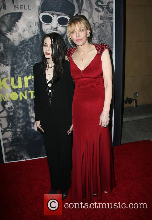 Frances Bean Cobain and Courtney Love 10