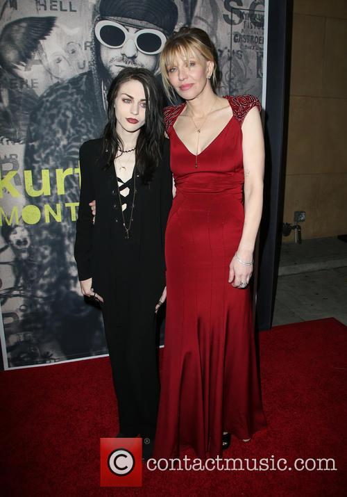 Frances Bean Cobain and Courtney Love 1