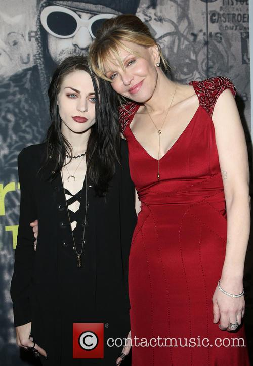 Frances Bean Cobain and Courtney Love